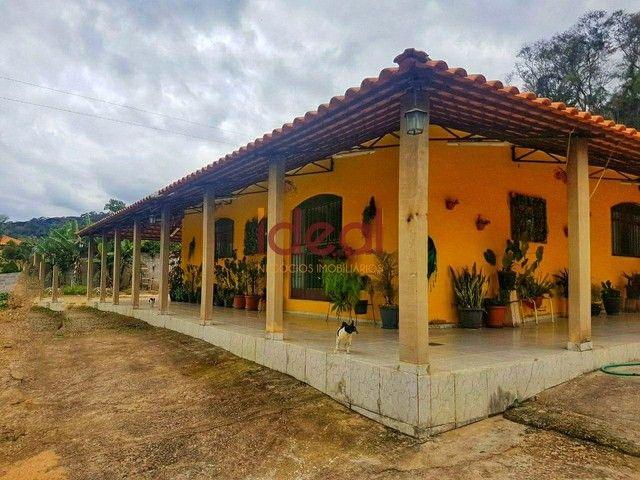 Sítio à venda, 4 quartos, 3 suítes, 4 vagas, Zona Rural - Paula Cândido/MG