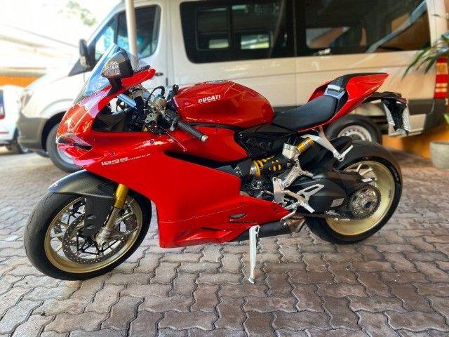 Moto Ducati Panigale S 1299 com incríveis 3.500 Km, vários acessórios, estado de zero! - Foto 13