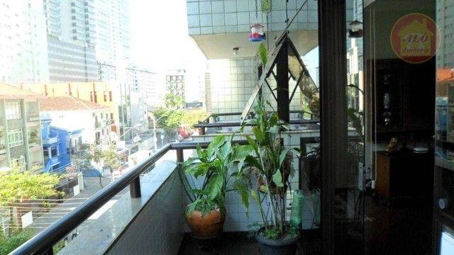 Apartamento com 3 dormitórios à venda, 155 m² por R$ 950.000,00 - Gonzaga - Santos/SP - Foto 12