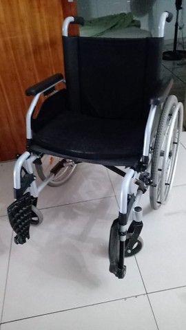 Vendo Cadeira de Rodas da marca ottobock super comcervada  - Foto 2