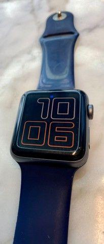 Apple Watch Serie 3 - GPS - 42mm com cabo carregador - Foto 5