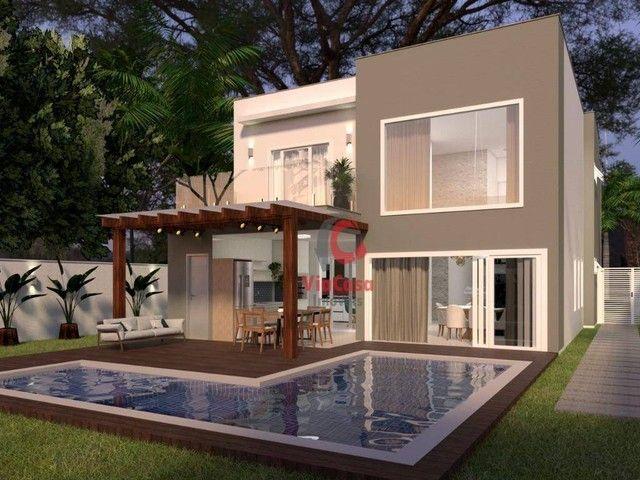 Casa com 4 Quartos Sendo 3 Suítes à venda, 220 m² por R$ 890.000 - Extensão do Bosque - Ri - Foto 18