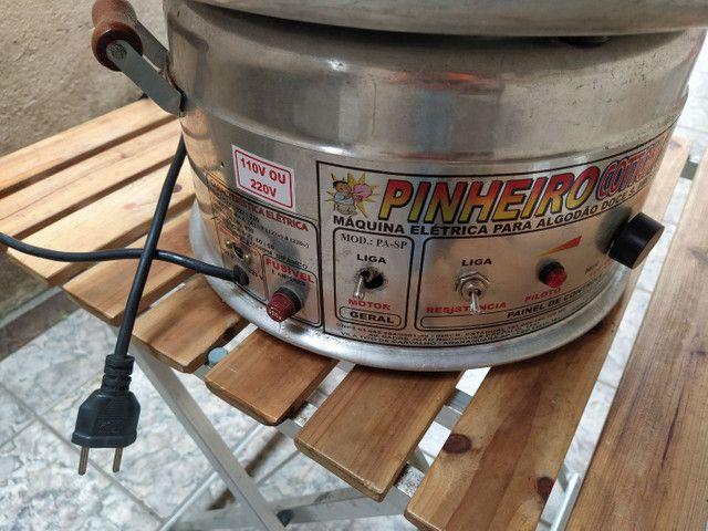 Máquina de algodão doce Pinheiro + Barraca - Foto 3