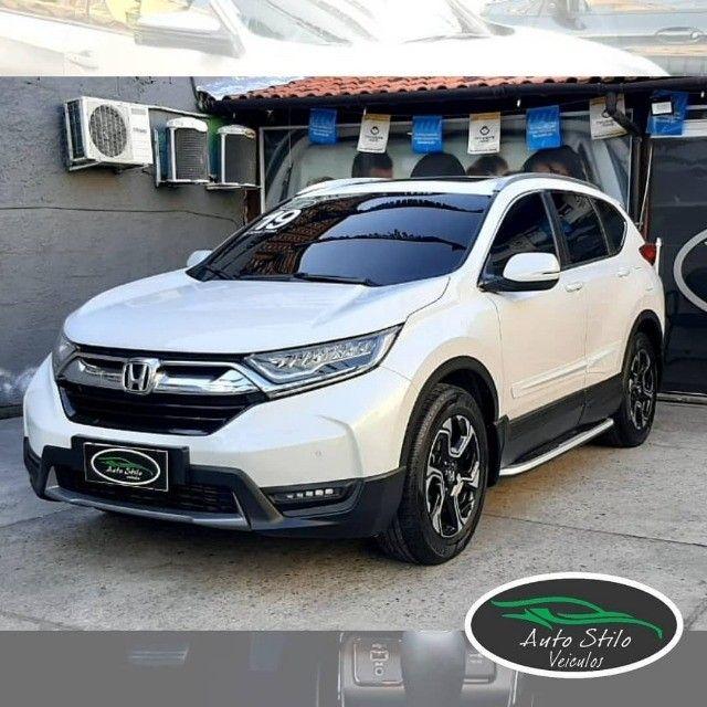 Honda CR-V Touring 2019 Branco Completo  - Foto 2