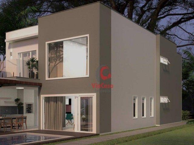 Casa com 4 Quartos Sendo 3 Suítes à venda, 220 m² por R$ 890.000 - Extensão do Bosque - Ri - Foto 12