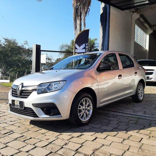 Renault Logan Life 1.0 12v 2020! R$52.500,00 à vista! - Foto 7