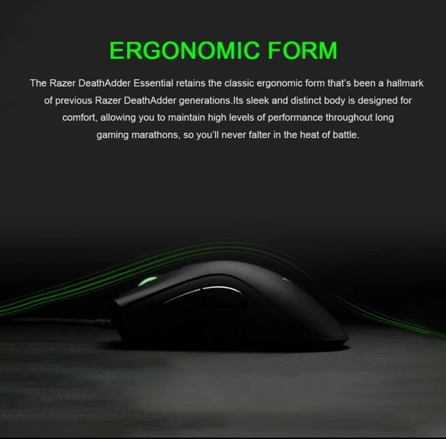 Mouse Razer Deathadder Essential - Novo e Lacrado - Foto 5