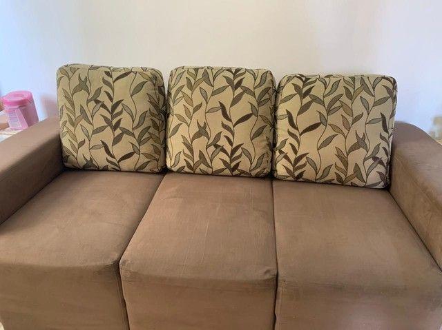 Vendo Sofá  chaise conservadíssimo  - Foto 2