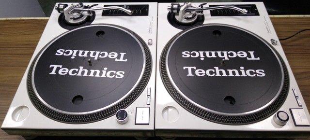Par de Toca Discos Technics Mk3d Customizadas Em M5g super novas único dono. - Foto 4