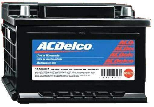 Baterias ACDelco 60ah