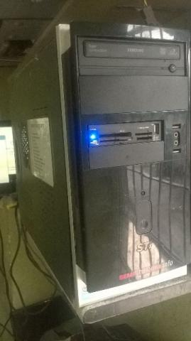 CPU computador barato placa mae socket am2 memoria ddr2 2g hd 160gb windows 10 peças cpu