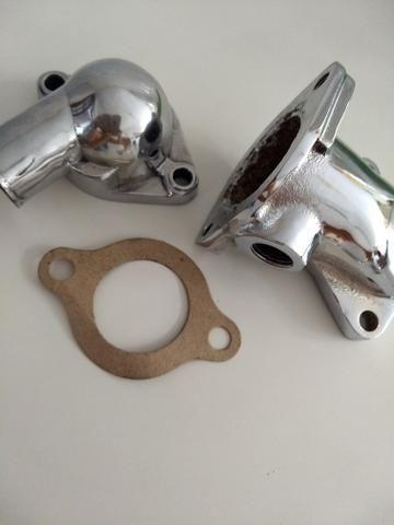 Carcaça valvula termostática opala original cromada