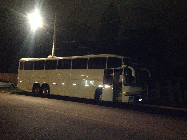 Motor home onibus para banda