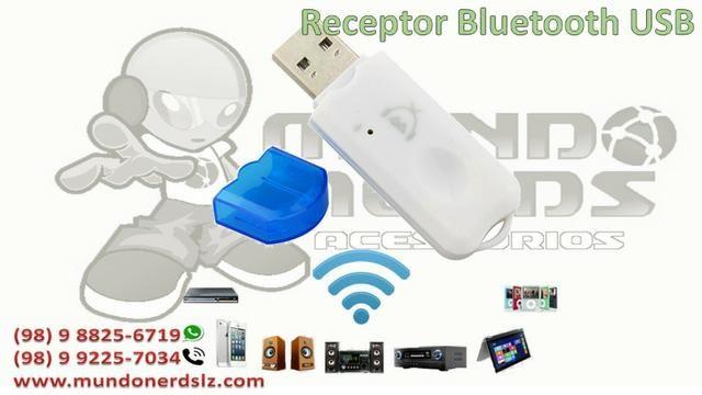 Adaptador de Áudio Bluetooth Usb Adaptador Musica Carro em são luis ma