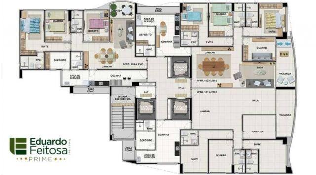 VB - Apartamento à venda, 3 e/ou 4 quartos da Moura Dubeux em Casa Caiada - Foto 11