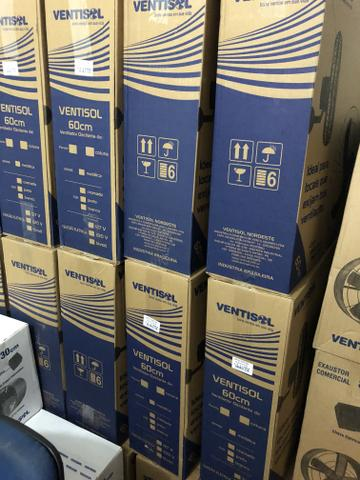 Ventilador Industrial de parede 60 cm 200w- motor com 2 rolamentos - Foto 3