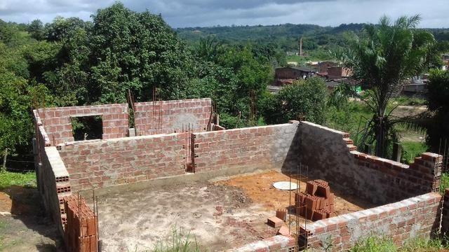 Camaragibe-PE - casa em construção na Ladeira do Liberato
