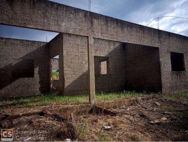 Vendo Terreno com Construção Jaru-Ro - Foto 2