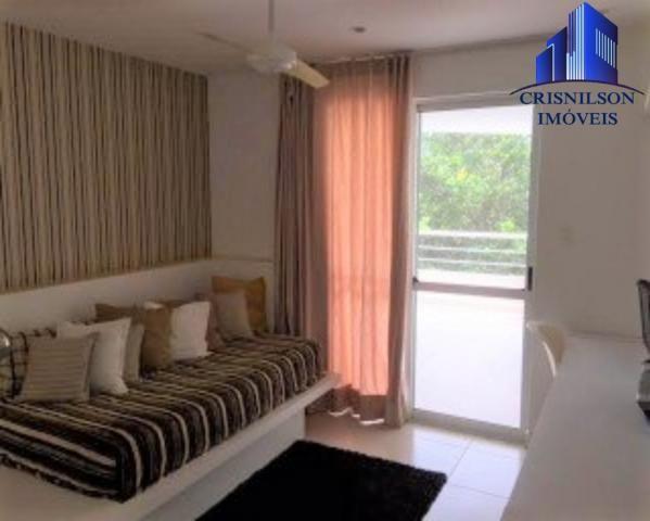 Casa à venda condomínio alphaville i salvador, decorada, 4 suítes, r$ 2.500.000,00, piscin - Foto 13