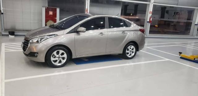 Hyundai HB20s 2017 Premium, AT 6 marchas, couro, garantia 2021, revisado - Foto 2