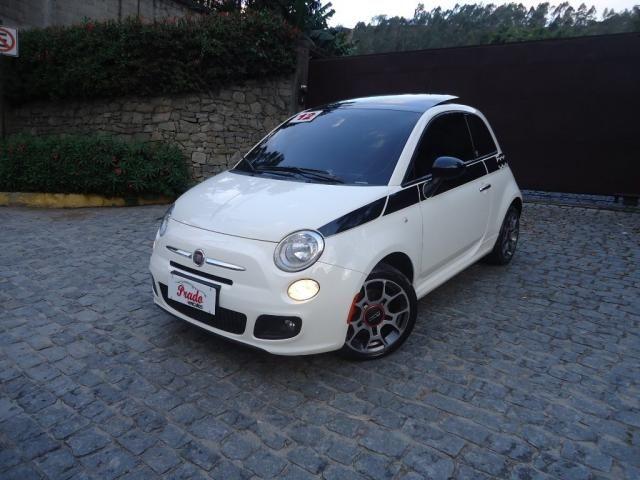 FIAT 500 2011/2012 1.4 SPORT AIR 16V GASOLINA 2P MANUAL - Foto 3