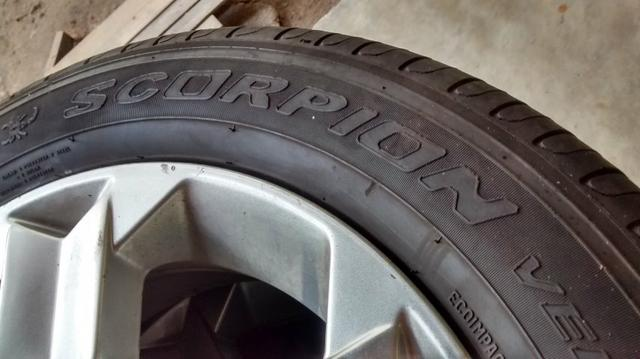 Roda Aro 16 GM + Pneus Scorpion Verde 215/65 R16 Pirelli Scorpion Verde 102h (Novos) - Foto 5