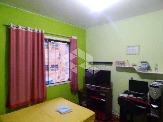 Apartamento à venda com 1 dormitórios em Floresta, Porto alegre cod:AP11179