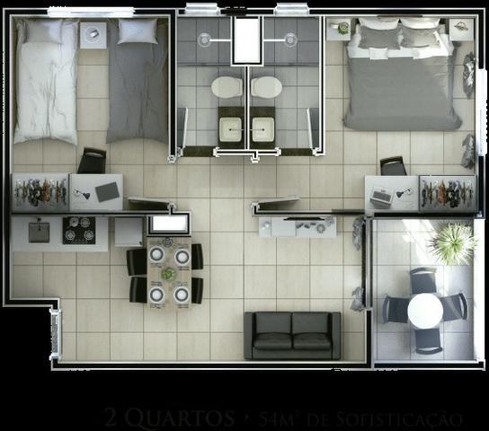 Salinas Exclusive Resort - Apartamento 311 com 2 quartos (Bloco 01) - Foto 5
