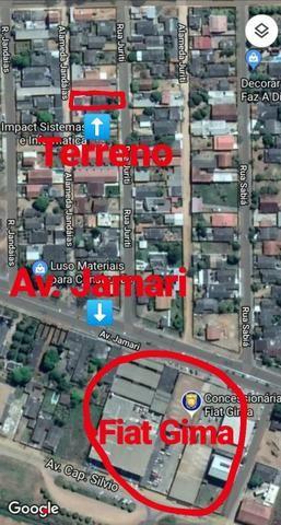 Vendo ou troco este terreno escriturado em Ariquemes