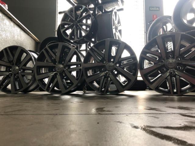 Rodas Aro 18 Hilux SRX 2018 Original - Foto 14