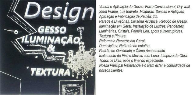 Gesso Reparos e Reforma - Foto 5