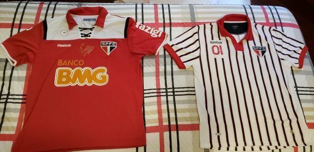 Camisa licenciada spfc São Paulo - Esportes e ginástica ... c57cb9b67cfa7