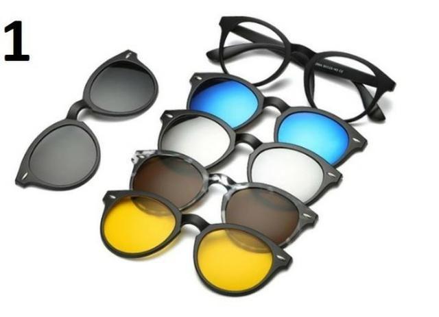 Oculos Clip Magnético Novo Aceito Cartão 99363-4648 Armação De Óculos  Design Moderno com C ff755a6f6b
