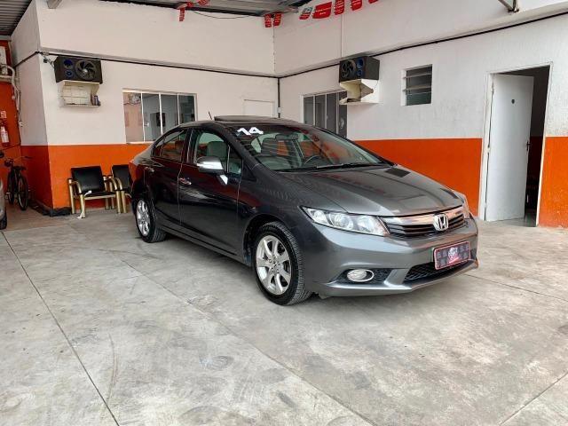 Honda Civic 2.0 2014 Com T E T O * RARO 70 MIL km/ Felipe 27-99897-0599