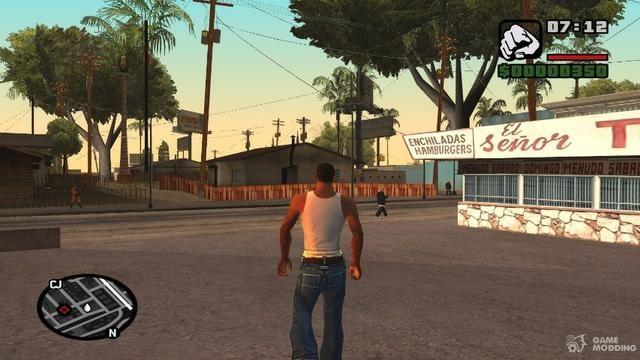 GTA San Andreas para PC Completo