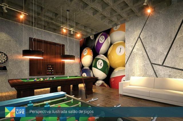 Quarto/Sala no Edifício Good Life, localização na Jatiúca e obras aceleradas!