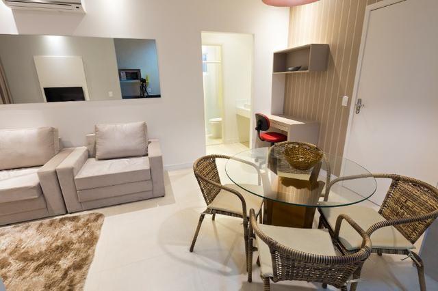 Apartamento Flat no Guarujá, 55m2 , Varanda Gourmet, Mobiliado! - Foto 10