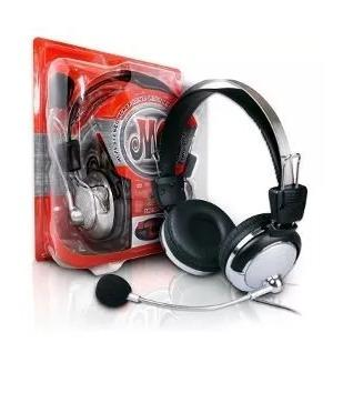 Fone De Ouvido Headset Gamer Com Microfone P/ Ps4 Pc Ps3 Wl