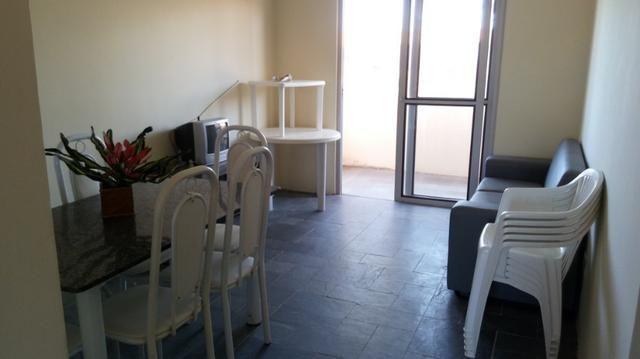 Apartamento Barra de São Miguel, 2 quartos c/ ar condicionado, varanda e piscina - Foto 3