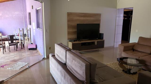 Casa 3quartos suíte piscina churrasqueira lote 830m2 rua 8 Vicente Pires condomínio - Foto 12