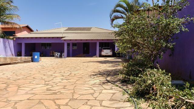 Casa 3quartos suíte piscina churrasqueira lote 830m2 rua 8 Vicente Pires condomínio - Foto 2