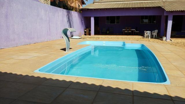 Casa 3quartos suíte piscina churrasqueira lote 830m2 rua 8 Vicente Pires condomínio - Foto 6