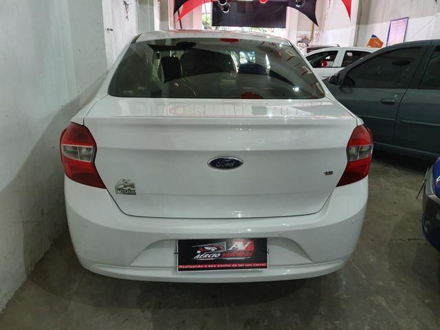 Ford Ka+ Sedan 2015 1 mil de entrada Aércio Veículos cx - Foto 4