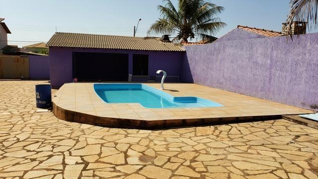 Casa 3quartos suíte piscina churrasqueira lote 830m2 rua 8 Vicente Pires condomínio - Foto 8