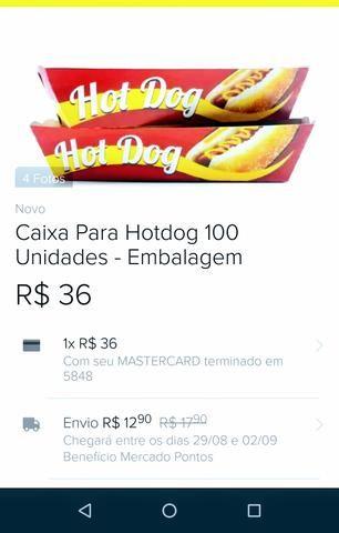 Embalagem para Hot Dog - Foto 2