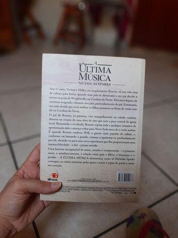 Livro A última música Nicholas Sparks - Foto 2
