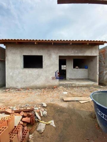 Casa com 2 dormitórios à venda por R$ 125.000 - Orleans Ji-Paraná I - Ji-Paraná/RO - Foto 4