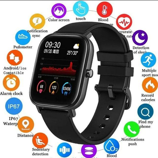 Relógio inteligente smartwatch Colmi p8 original pronta entrega! - Foto 4