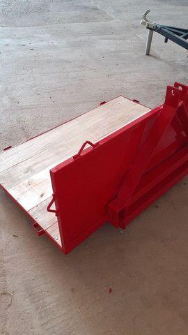 Plataforma transportadora de carga para trator - Foto 3