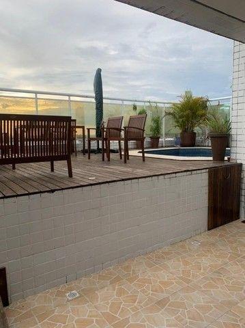 Alugo Cobertura Duplex no Cond. Ocean Park  com 260m2, 4 qtos, com Deck e Piscina. - Foto 4